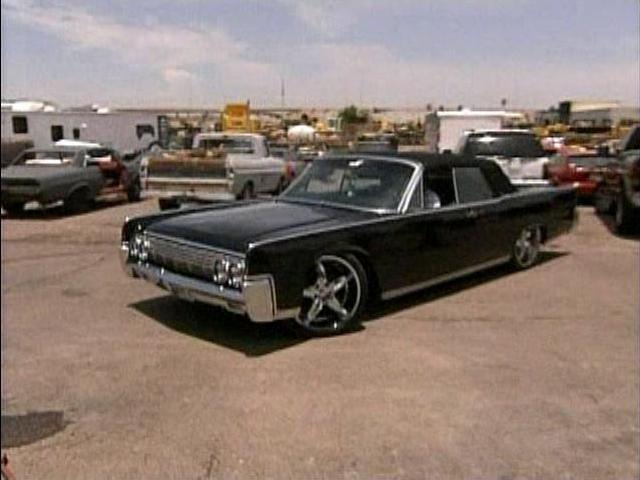 1964 lincoln continental in american body shop 2007. Black Bedroom Furniture Sets. Home Design Ideas