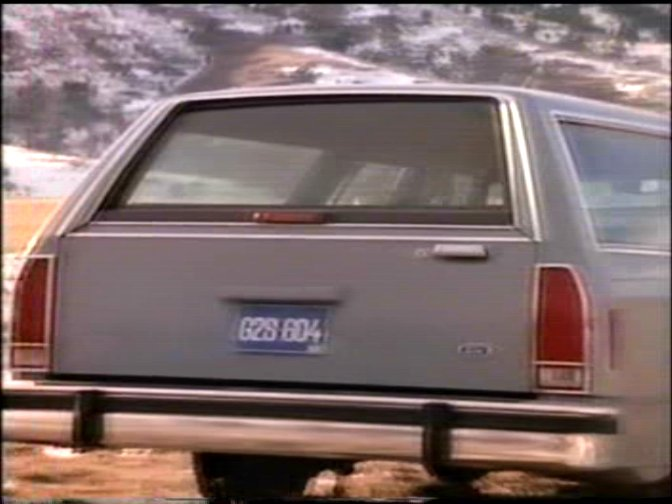 1988 Ford LTD Crown Victoria Wagon