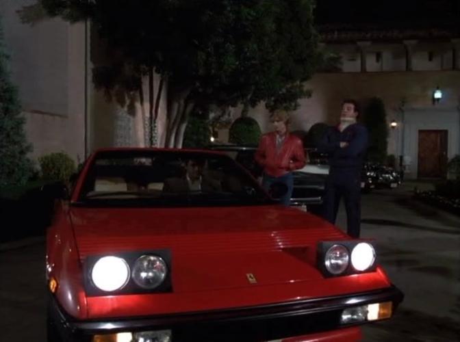 1983 ferrari mondial qv cabriolet in into the night 1985. Black Bedroom Furniture Sets. Home Design Ideas