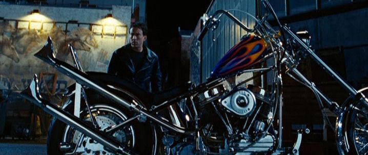 "Harley Davidson Movie: IMCDb.org: Harley-Davidson Panhead In ""Ghost Rider, 2007"""