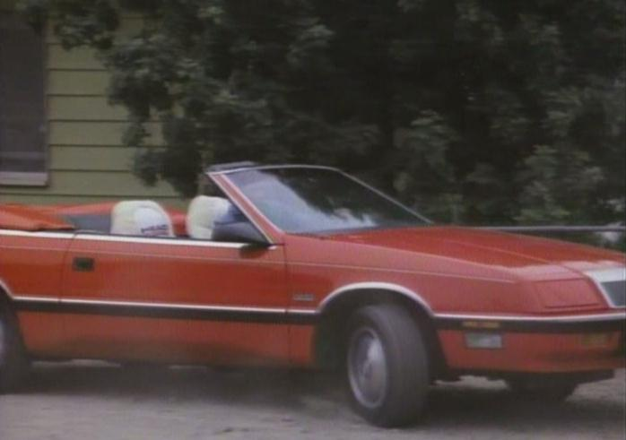 1987 Chrysler LeBaron Convertible Turbo