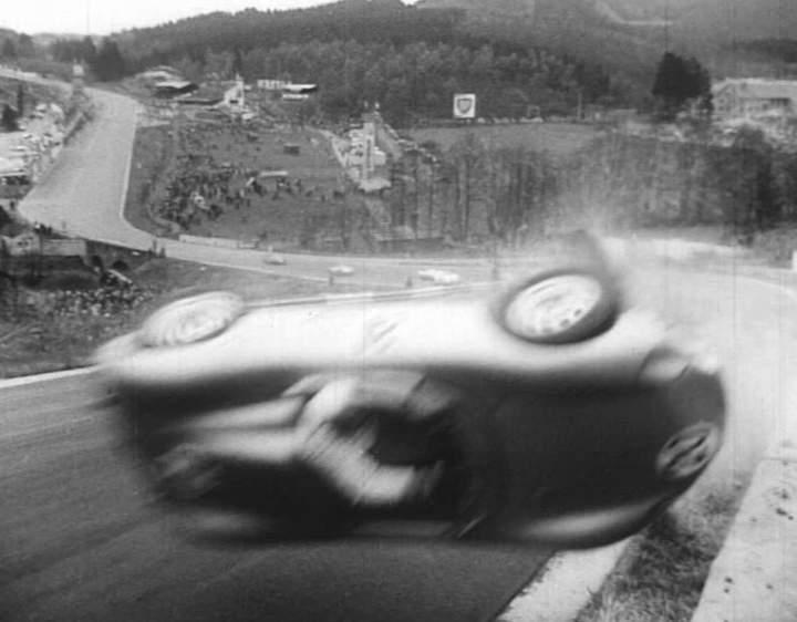 1957 porsche 718 rsk in l 39 ennemi dans l 39 ombre 1960 - Eau trouble spa ...