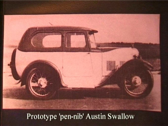Austin Swallow 'Pen-nib'