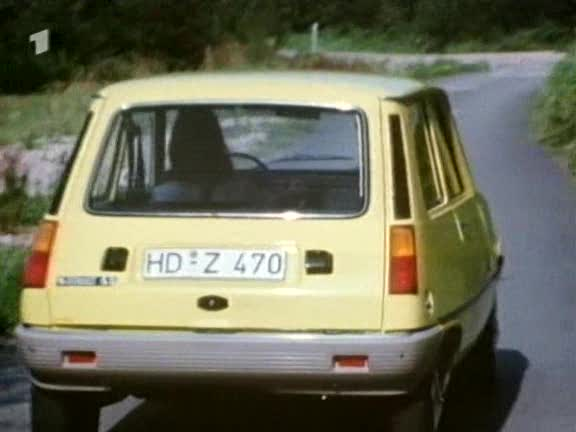 1976 Renault 5 TL S�rie 1 [R1222]