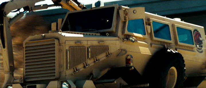 """IMCDb.org: Force Protection Buffalo MPCV in """"Transformers, 2007"""""""