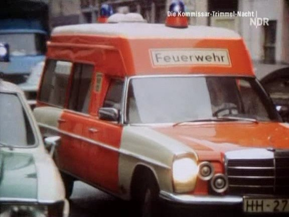 1974 Mercedes-Benz Ambulance Miesen Bonna 2600 [W115]