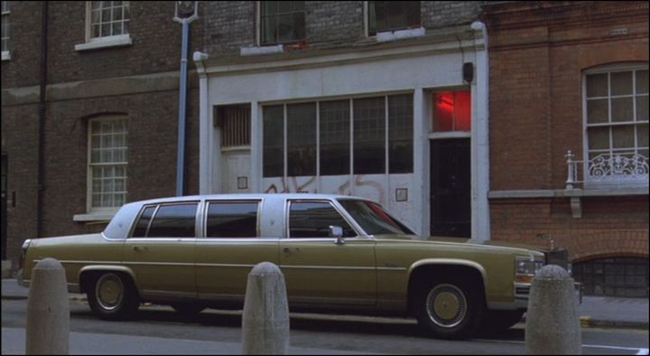 1980 Cadillac Fleetwood Brougham Stretched Limousine