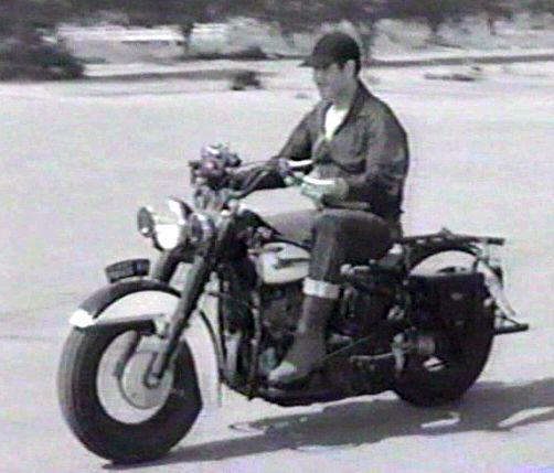 "imcdb: harley-davidson hydra glide in ""code two, 1953"""