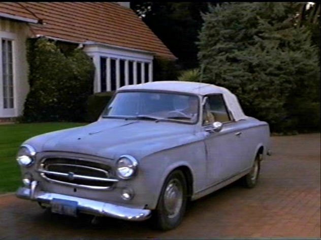 1960 peugeot 403 cabriolet in columbo columbo and the murder of a rock star 1991. Black Bedroom Furniture Sets. Home Design Ideas