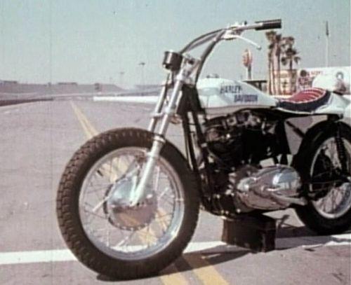 "Evel Knievel 1200: IMCDb.org: Harley-Davidson Sportster In ""Evel Knievel, 1971"""