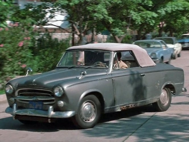 1960 peugeot 403 cabriolet in columbo a matter of honor 1976. Black Bedroom Furniture Sets. Home Design Ideas
