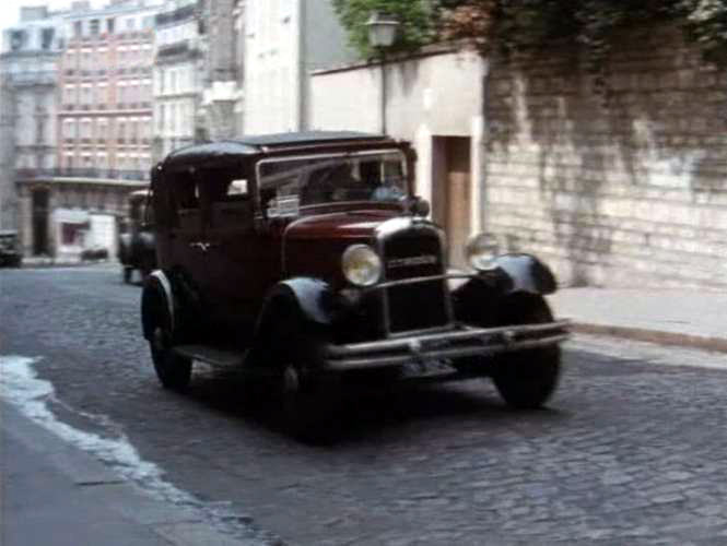 1932 Citro�n C4 G Large Taxi D�capotable