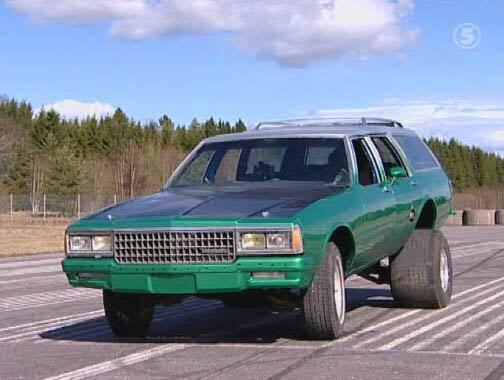 Imcdb Org Chevrolet Caprice Classic In Monster Garage