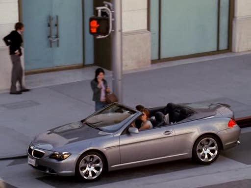 IMCDb.org: 2004 BMW 645Ci Cabriolet [E64] in \