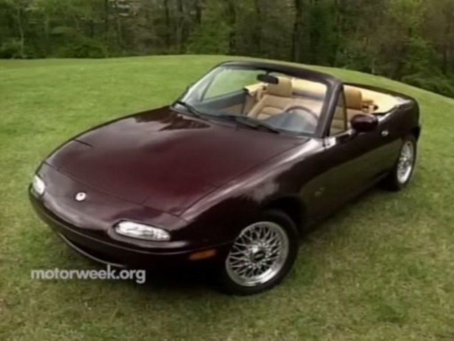 1995 mazda mx 5 miata m edition na in motorweek 1981 2018. Black Bedroom Furniture Sets. Home Design Ideas