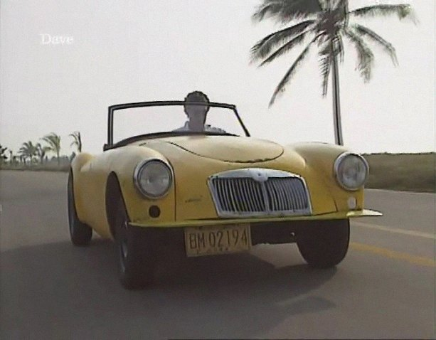 1956 MG A Roadster with Lada engine MkI