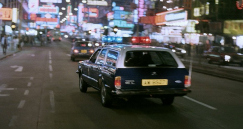 1977 Ford Cortina Estate HK Police MkIV
