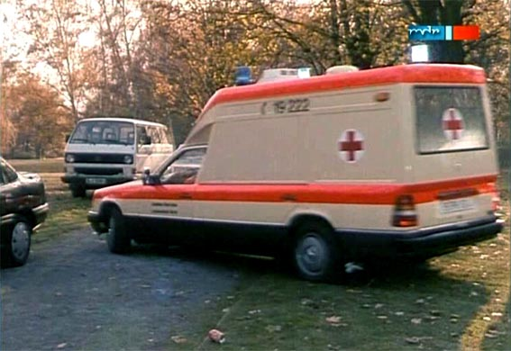 1986 Mercedes-Benz Ambulance Miesen Bonna 124 L [W124]