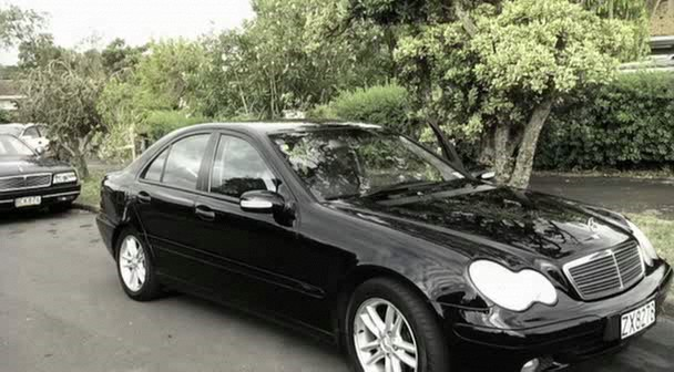 2001 mercedes benz c 180 w203 in you move you die 2007. Black Bedroom Furniture Sets. Home Design Ideas