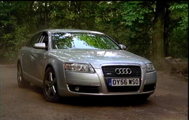 2006 audi a6 3 2 fsi quattro se c6 typ 4f in waking the dead 2000 2011. Black Bedroom Furniture Sets. Home Design Ideas