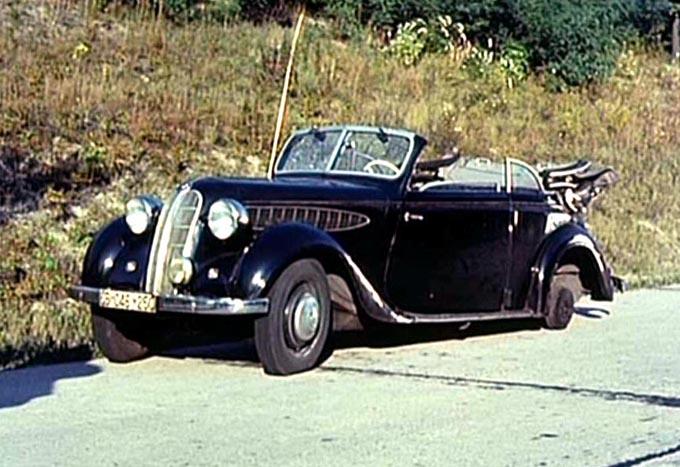 IMCDb.org: 1939 BMW 326 Cabriolet in \