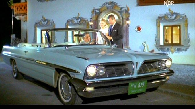 1961 Pontiac Bonneville Convertible [2867]
