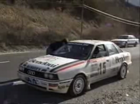 1990 Audi 90 quattro Rally Car B3 [Typ 89Q]