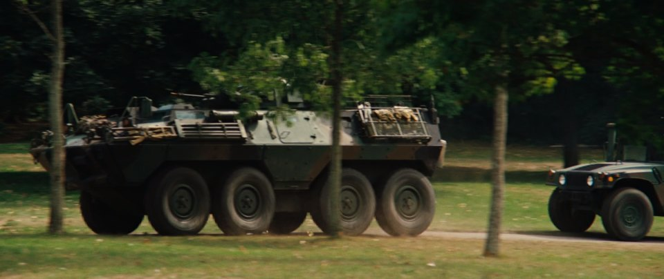 1995 Omni International V-150-S 8x8 APC