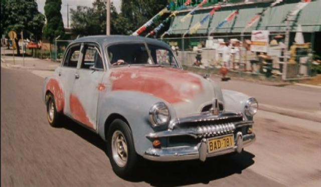 FJ Holden and Valiant Charger (from Australian movies)