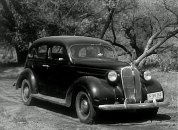 1937 Plymouth Business Sedan [P-3]