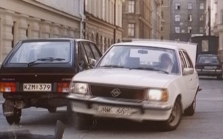 1976 opel ascona b in gr s nklingar 1982. Black Bedroom Furniture Sets. Home Design Ideas