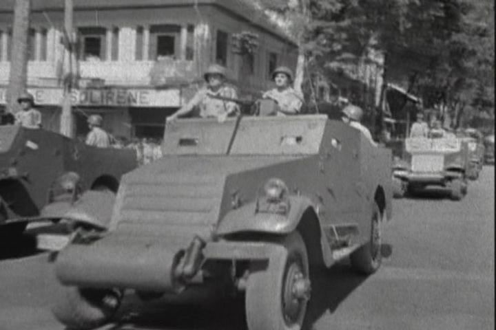 White M3 A1 Scout Car