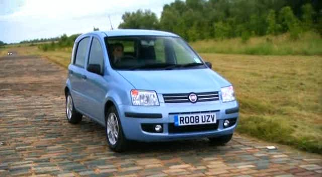 2008 fiat panda 1 2 dynamic 169 in fifth gear 2002 2015. Black Bedroom Furniture Sets. Home Design Ideas
