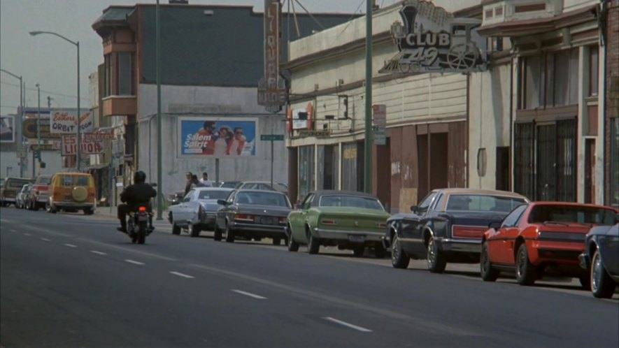 IMCDb.org: 1978 Mercedes-Benz 280 CE [W123] in The Nude Bomb, 1980