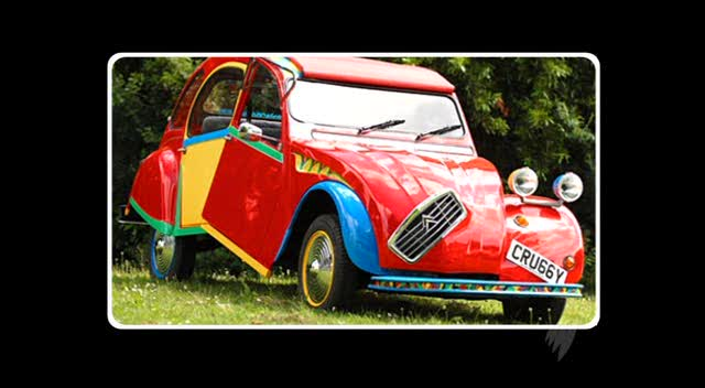 citroen 2cv top gear