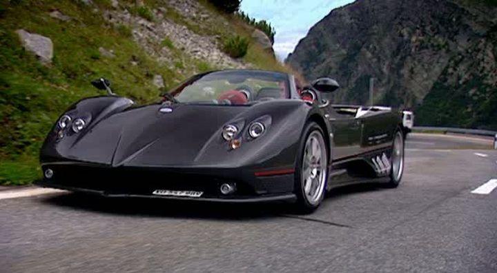 IMCDb.org: Pagani Zonda F Roadster in