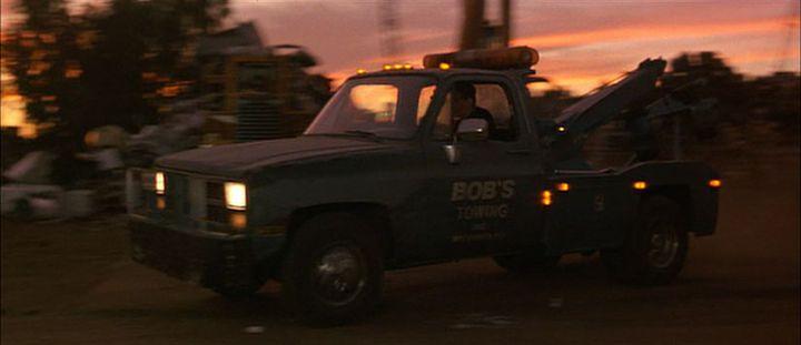 Movie eraser truck