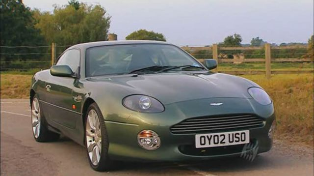 Imcdb Org 2002 Aston Martin Db7 Vantage In Top Gear 2002 2015