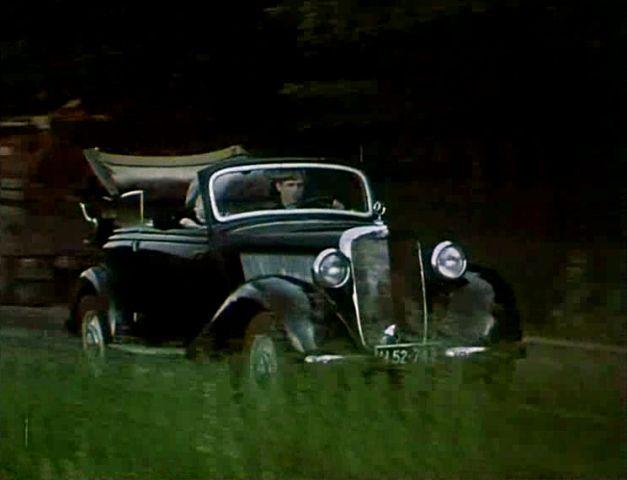 Mercedes-Benz, (170 VA), 1950.