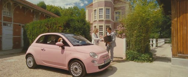 2009 fiat 500 1 2 so pink 312 in de l 39 autre c t du lit 2008. Black Bedroom Furniture Sets. Home Design Ideas