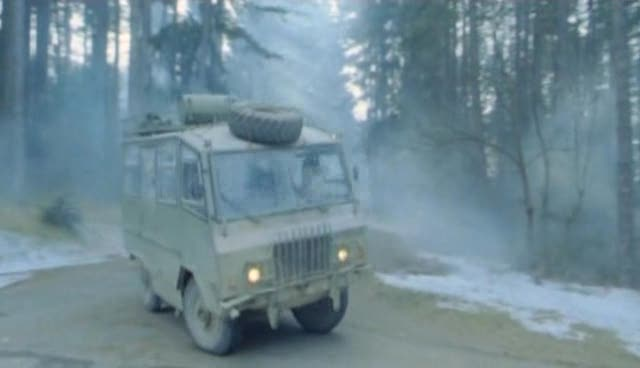 The Vehicle Is Part Of The Movie