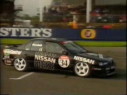 Imcdb Org 1992 Nissan Primera 2 0egt P10 In Top Gear 1978 2001
