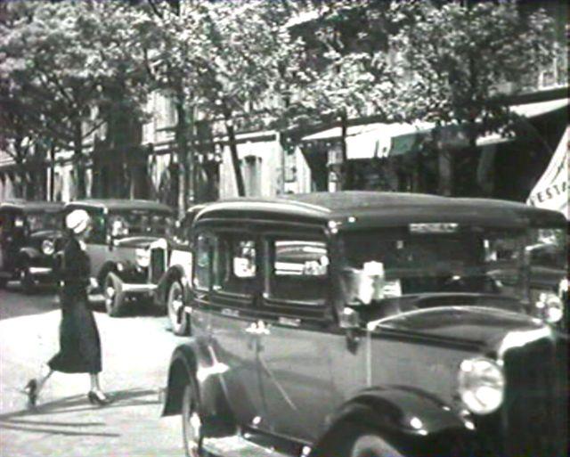 1933 renault taxi g7 type kz11 in bonne chance 1935. Black Bedroom Furniture Sets. Home Design Ideas