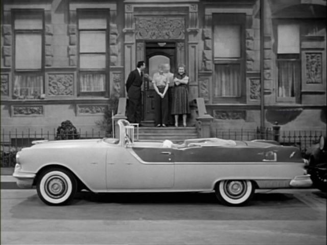 Image result for I love lucy car they take to hollywood pontiac starchief