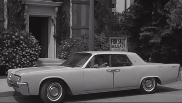 1964 lincoln continental four door sedan 53a in the night walker 1964. Black Bedroom Furniture Sets. Home Design Ideas