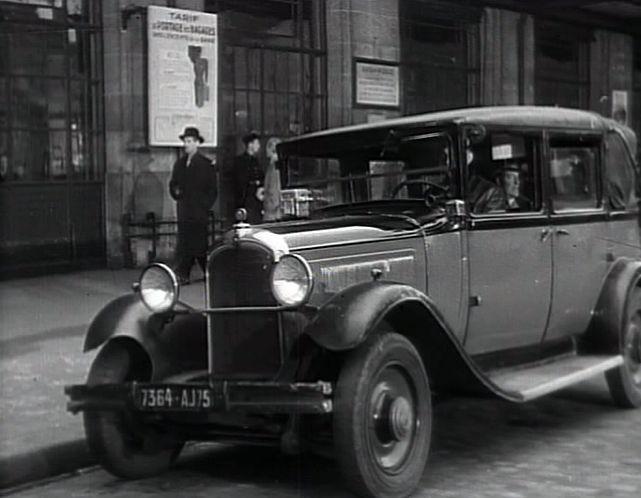 1931 citro n c4 f large taxi d capotable in la. Black Bedroom Furniture Sets. Home Design Ideas