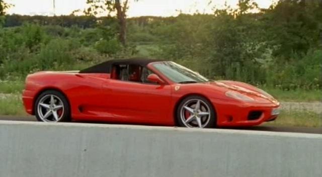 Imcdb 2000 Ferrari 360 Spider In Alarm Fr Cobra 11 Die