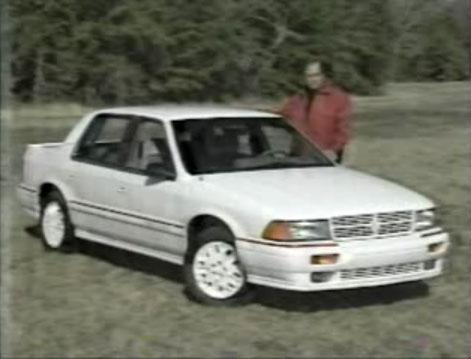 IMCDb.org: 1991 Dodge Spirit R/T Turbo in