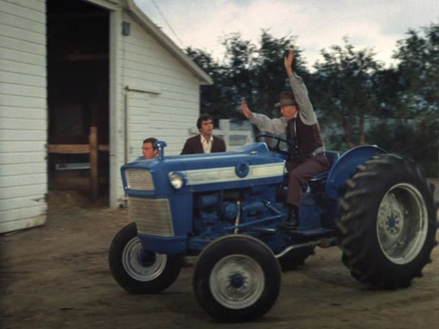 1964 Ford 3000 Tractor : Imcdb ford in quot the andy griffith show
