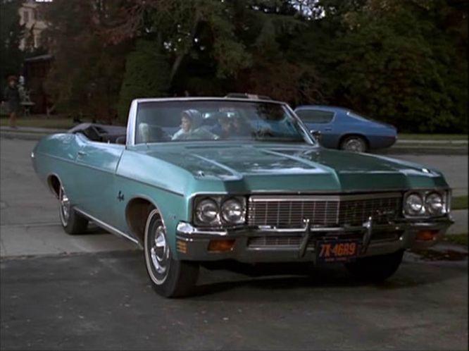 Imcdb Org 1970 Chevrolet Impala Convertible 16467 In